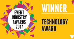 Event Industry Awards 2017 - SonorPlex Technology Award Winner Logo